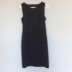 Black H&M animal print dress